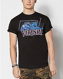 Adult Omega Fortnite All Night T Shirt