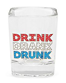 Drink Drank Drunk Shot Glass - 1.8 oz.