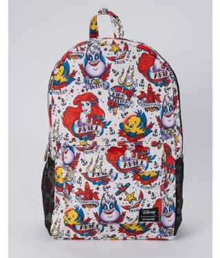 Tattoo The Little Mermaid Backpack