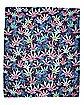 Tie Dye Leaf Tapestry