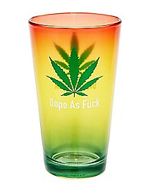 Dope as Fuck Pint Glass