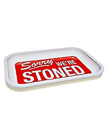 Sorry We're Stoned Jewelry Tray