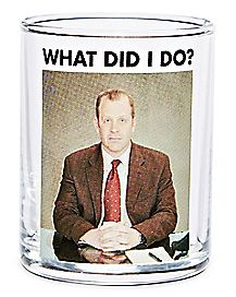 What Did I Do Toby Shot Glass 3 oz. - The Office