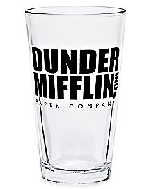 Dunder Mifflin Pint Glass 16 oz. - The Office