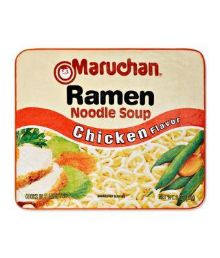 Ramen Noodles Soup Fleece Blanket