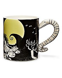 Snake Handle Coffee Mug 20 oz. - The Nightmare Before Christmas