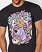 Psychedelic Scooby Snacks T Shirt - Scooby-Doo