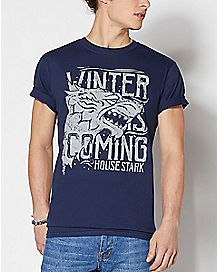Wolf House Stark T Shirt - Game of Thrones