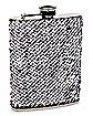 Sequin Steel Flask - 8 oz.