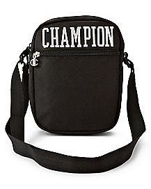 Black Varsity Cross Body Bag - Champion