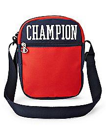 Red Varsity Cross Body Bag - Champion
