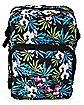 Tropical Leaf Cross Body Bag