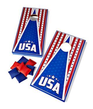 USA Table Top Bean Bag Toss Game