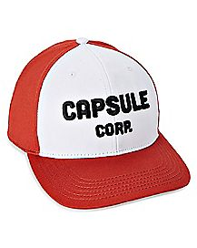 Capsule Corp Snapback Hat - Dragon Ball Z