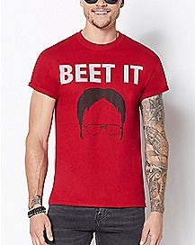 Dwight Shrute Beet It T Shirt - The Office