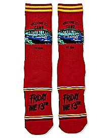 Camp Crystal Lake Socks – Friday the 13th