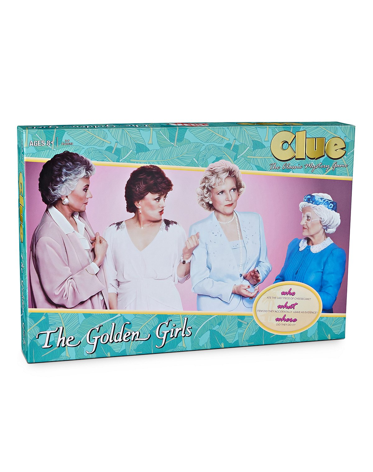 Golden Girls Clue Game