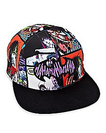 Sublimation Print Joker Snapback Hat - Batman