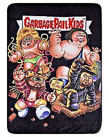 Garbage Pail Kids Fleece Blanket - WWE