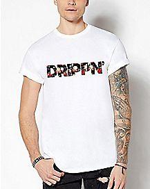 Floral Drippin' T Shirt