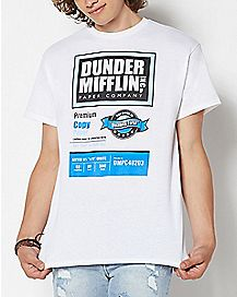 The Office Paper Copy T Shirt – The Office