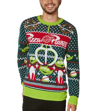 Pizza Planet Christmas Sweater