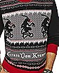 Krampus Ugly Christmas Sweater