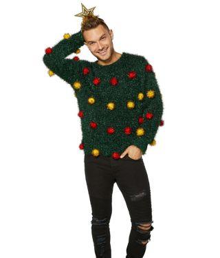 Tinsel Ugly Christmas Sweater