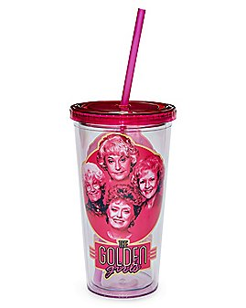 Golden Girls Cup with Straw - 20 oz.