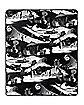 Jack Skellington Reversible Fleece Blanket - The Nightmare Before Christmas