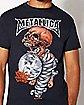 Skull Metallica T Shirt