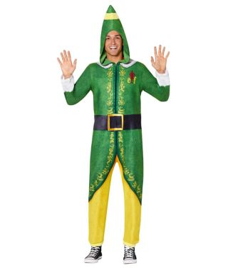 Buddy The Elf Union Suit