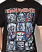 Ten Eddies Iron Maiden T Shirt