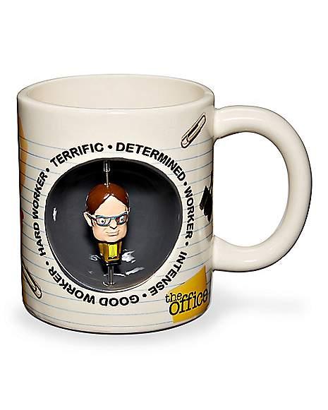 Dwight Schrute Spinner Coffee Mug 20 Oz.