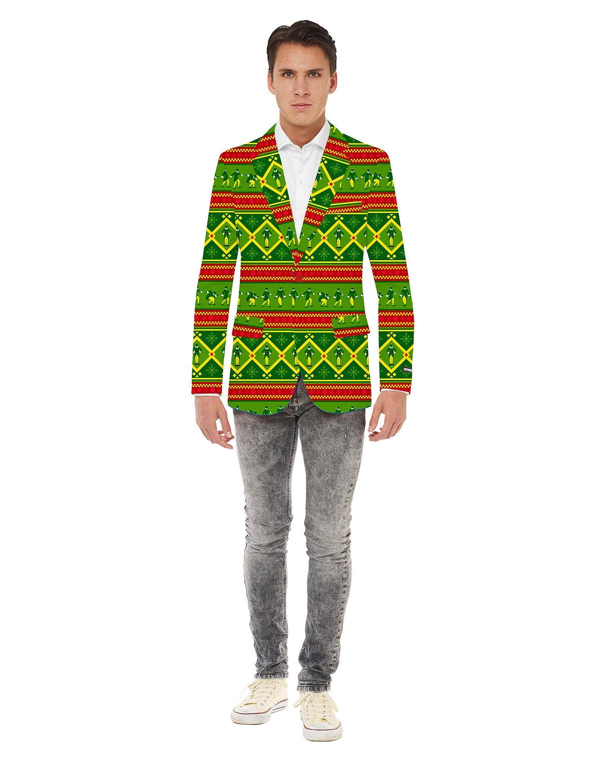 Elf Ugly Christmas Jacket