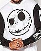 Jack Skellington Long Sleeve Raglan T Shirt - The Nightmare Before Christmas