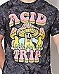 Mushroom Acid Trip T Shirt