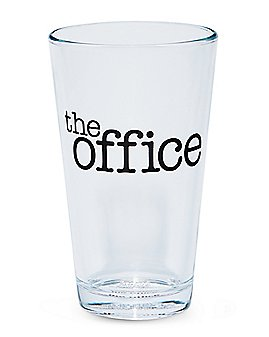 The Office Logo Pint Glass - 16 oz.