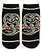 Cobra Kai No Show Socks