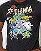 Classic Spider-Man Villains T Shirt