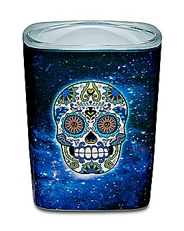 Galaxy Sugar Skull Shot Glass - 2.5 oz.
