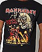 The Number of the Beast T Shirt - Iron Maiden