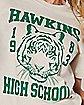 Hawkins High School T Shirt - Stranger Things