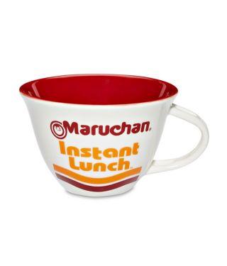 Ramen Noodles Soup Mug with Spoon - 16 oz.