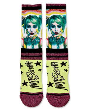 Harley Quinn Birds of Prey Socks