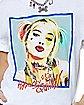 Box Art Harley Quinn T Shirt - Birds of Prey