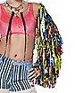 Harley Quinn Confetti Jacket - Birds of Prey