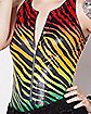 Rainbow Zebra Bodysuit