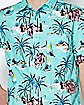 Tropical Island Button Down Shirt