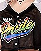 Cropped Team Pride Jersey